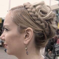 Flechtfrisur zum Oktoberfest – do it yourself mit Haarteilen