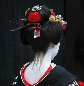 Geisha Rücken