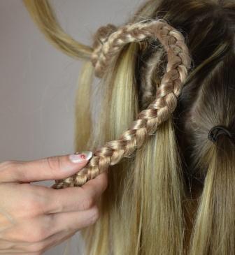Kunsthaar Stylen Frisieren Extensions Haarteile Perucken