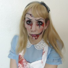 Horror Alice im Wunderland – Halloween Make-up & Styling