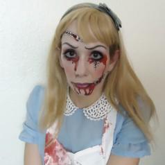 Horror Alice im Wunderland – Halloween Make-up & Styling