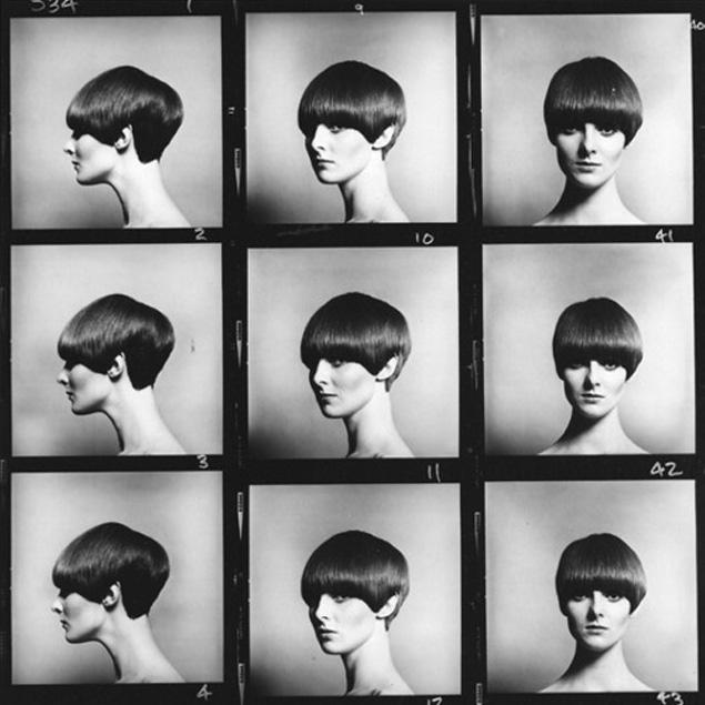 Frisuren halblang 60er