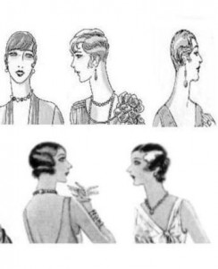 Zwanziger Jahre Frisuren