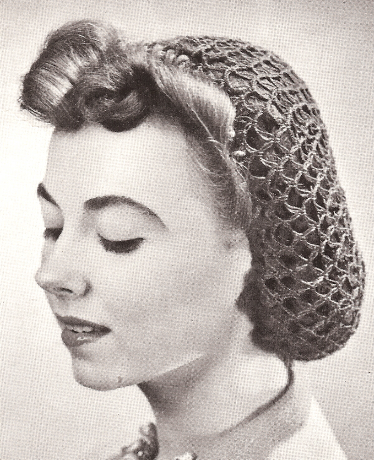 Crochet Hair Net Free Pattern : Retro Hutmode a la Schiaparelli- 30er H?te und Turbane - Retrochicks