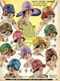 fbbc91e257b62e 20er Styling für die Lady - Accessoires der Zwanziger - Retrochicks