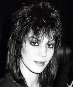 Sängerin Joan Jett mit Shag