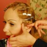 2 Pin Curls zum Schluss