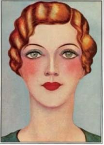 30er Jahre Makeup