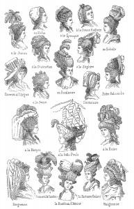 Rokoko Mode und Frisurenn