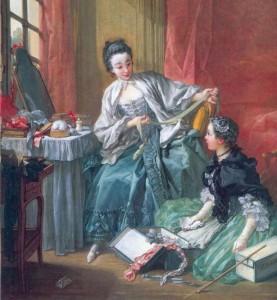 Die Modeverkäuferin, 1746