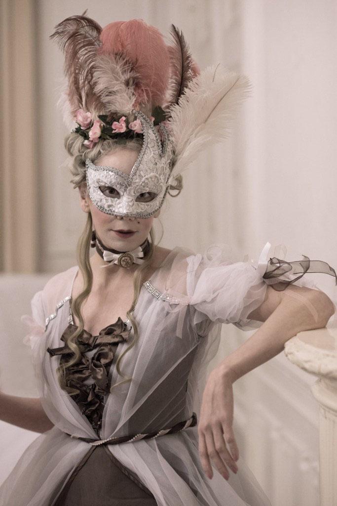 Rokoko Frisur Anleitung Hochfrisur Marie Antoinette