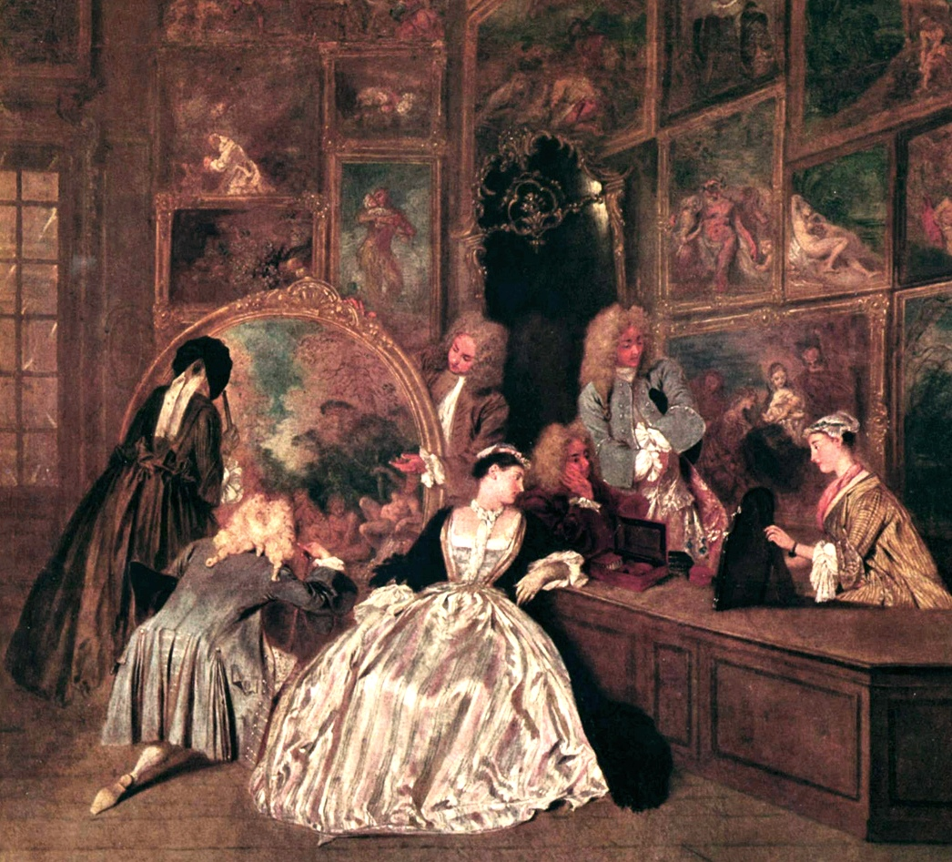 Barock - Frisuren, Mode, Schönheit bei Ludwig XIV - Retrochicks