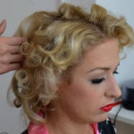 Marilyn Monroe Frisur Tutorial
