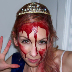 Carrie Halloween Kostüm DIY-Horror Prom Queen