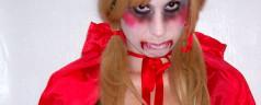 Horror Rotkäppchen Schmink- und Verkleidungstipps