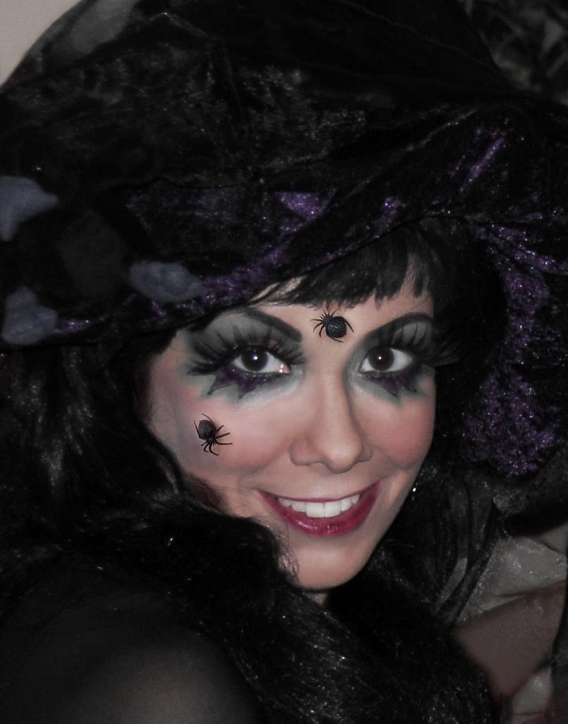 Schwarze Witwe Halloween Kostum Tutorial Retrochicks