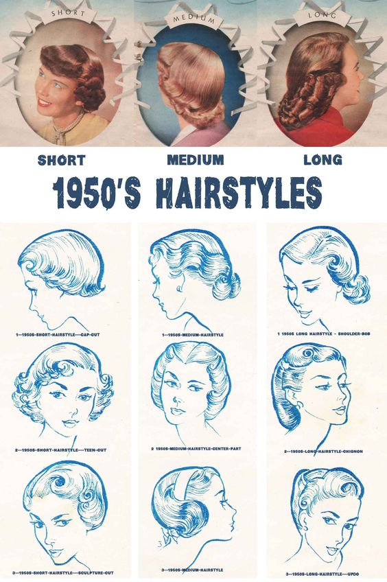 50er Frisuren Selber Machen Langes Haar Retrochicks