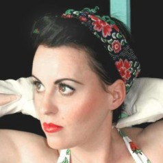 pinup bandana frisur rockabilly haarband binden retrochicks