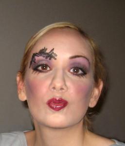 Sexy Hexe Makeup Hexenkostüm Selber Machen Retrochicks