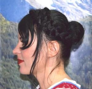 Oktoberfest Frisur feine Haare
