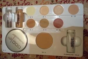 Verwendung Camouflage Makeup
