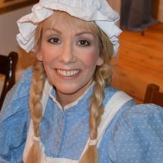 Frau Holle Märchenkostüm selber machen