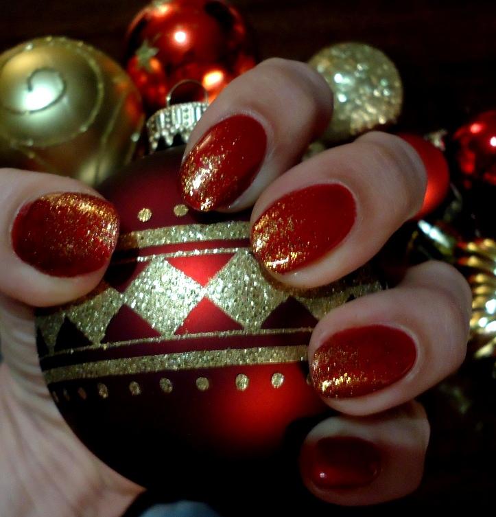 Shellac Nägel Weihnachten UV Lack - Retrochicks