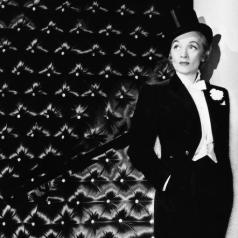 Mode-Ikone Marlene Dietrich Style & Provokation