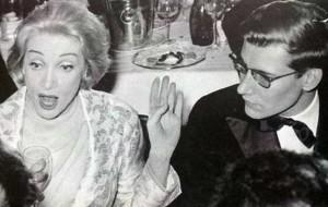 Marlene Dietrich & the smoking